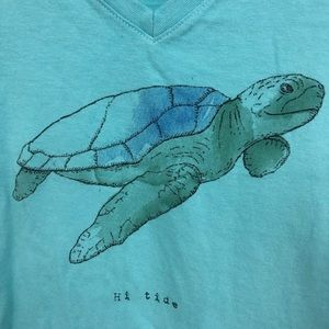 Life Is Good Tops - LIFE IS GOOD SEA TURTLE CRUSHER T SHIRT S